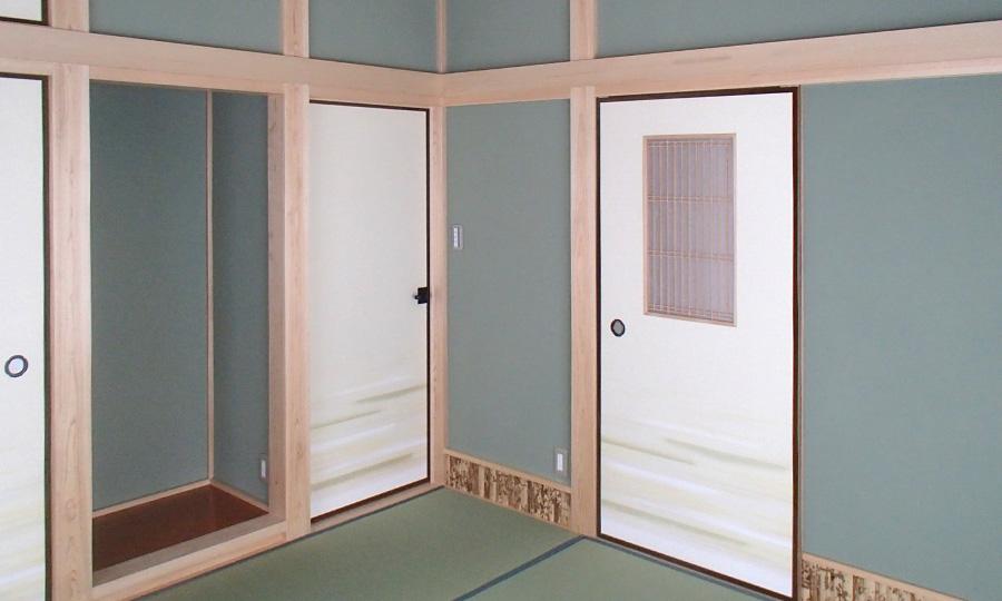 東村山市 M邸真壁造りの和室
